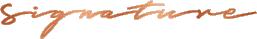 Logo skin signature